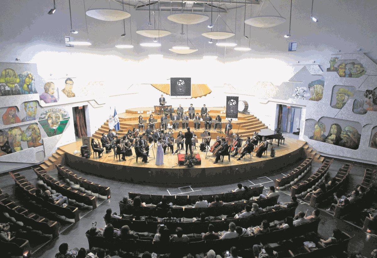 Trabajos inconclusos en el Conservatorio Nacional de Música