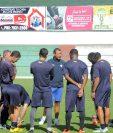 Antigua GFC se alista para enfrentar Comunicaciones el sábado en el Pensativo. (Foto Prensa Libre).