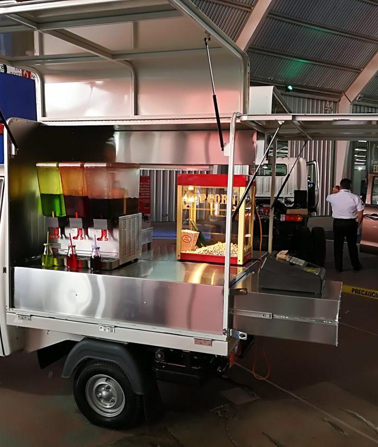 El equipamiento se puede adecuar a varios tipos de negocios. (Foto, Prensa Libre: Cortesía Tuksi Box).