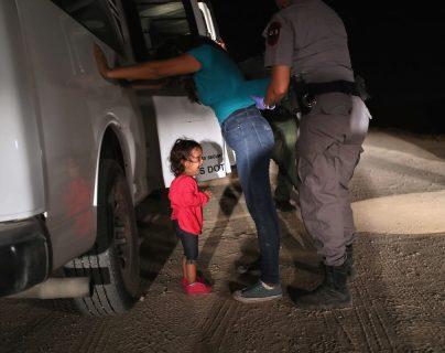 El año pasado miles de menores fueron separados de sus padres. (Foto Prensa Libre: Hemeroteca PL)