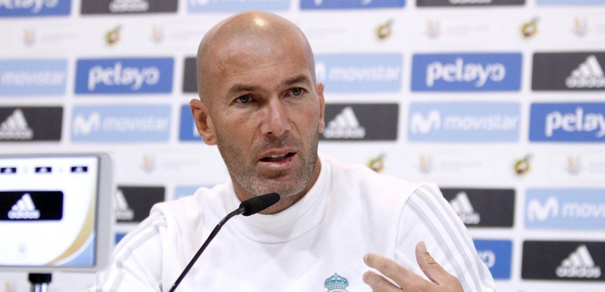 Zidane confiesa su enfado por la suspensión de Cristiano