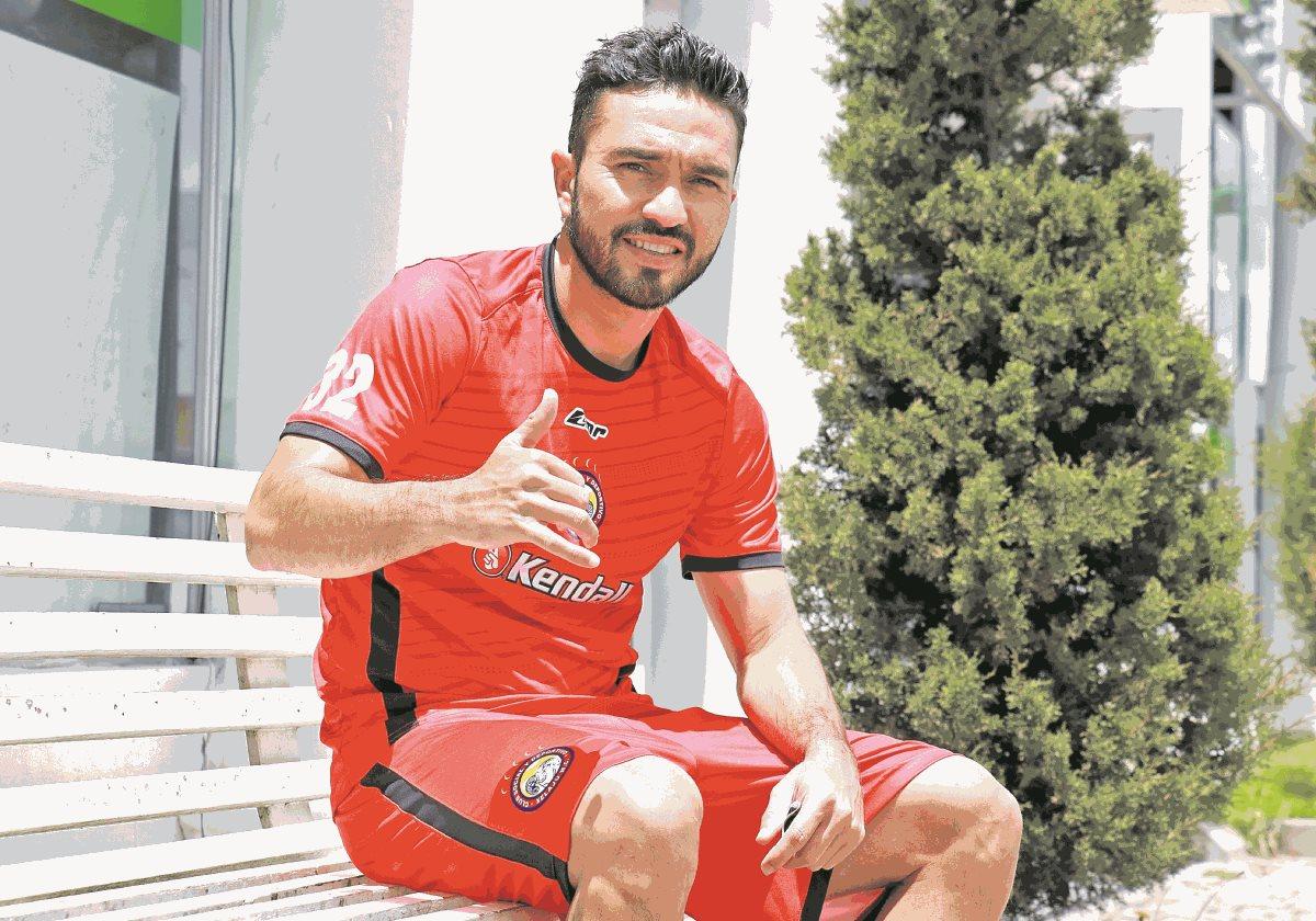 Carlos Kamiani estará fuera entre dos y tres semanas debido a una ruptura fibrilar. (Foto Prensa Libre: Hemeroteca PL).