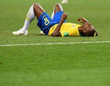 El gol de Fernandinho le abrió el camino a Bélgica para vencer a Brasil en la llave de cuartos de final de Rusia 2018. (Foto Prensa Libre: AFP)