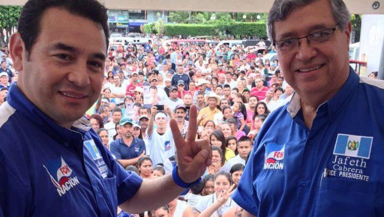 FCN-Nación reportó al Tribunal Supremo Electoral la cantidad de un poco más de Q3 millones, pero es posible que esa agrupación haya recibido Q15 millones (Foto Prensa Libre: Hemeroteca PL)