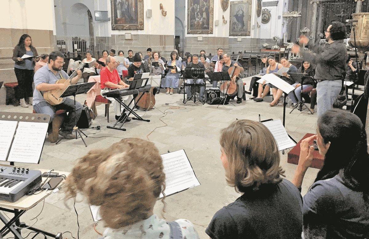 Agrupaciones musicales celebran aniversario de la Catedral Metropolitana
