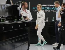 El piloto alemán, Nico Rosberg se siente confiado en realizar una buena carrera el domingo en Bahrein. (Foto Prensa Libre: AFP)