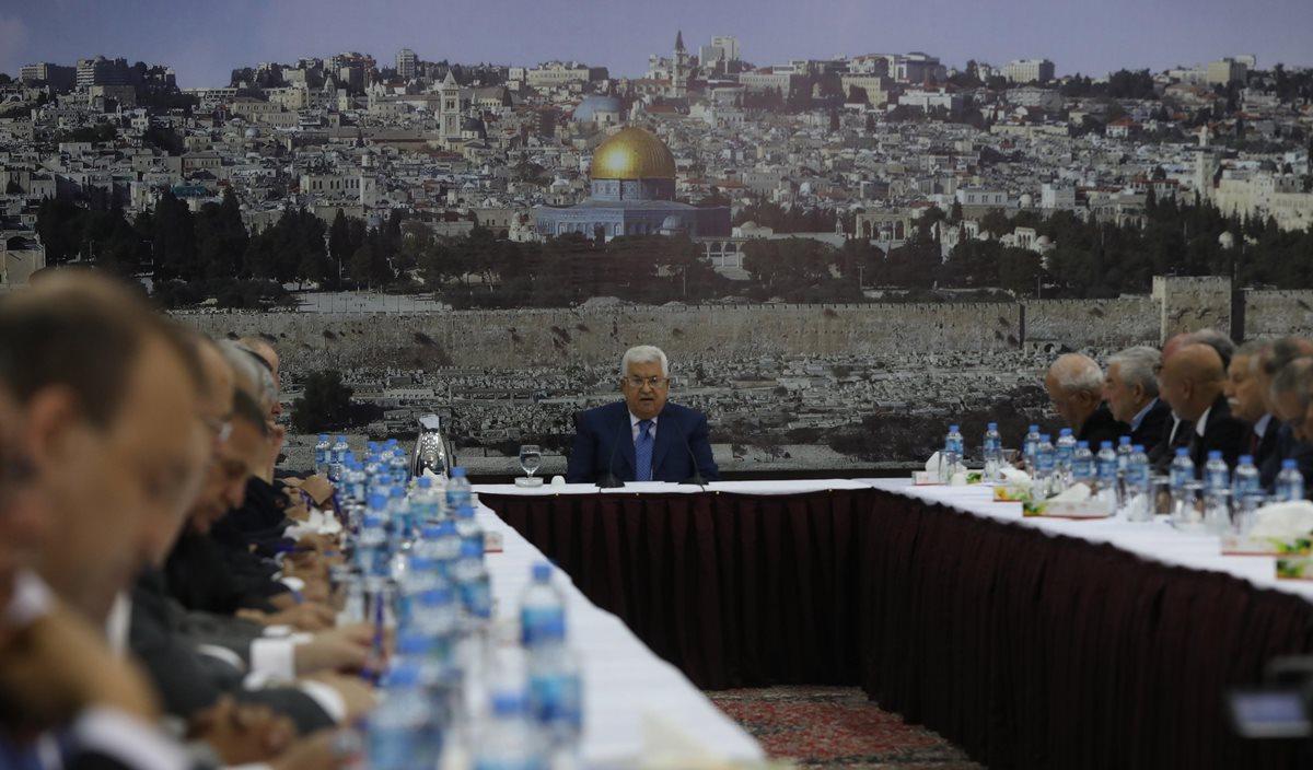 """La Organización para la Liberación de Palestina comunicó que no les sorprende la decisión de Morales, al ser un presidente que """"se ha opuesto a las investigaciones de la ONU por corrupción"""". (Foto Prensa Libre: EFE)"""