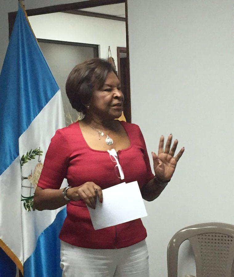 El pasado 10 de mayo la cancillería guatemalteca también pidió el reemplazo de la embajadora de Venezuela, Elena Alicia Salcedo Poleo. (Foto Prensa Libre; Hemeroteca PL)