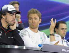 El alemán Nico Rosberg domina la clasificación de la Fórmula Uno. (Foto Prensa Libre: AFP)