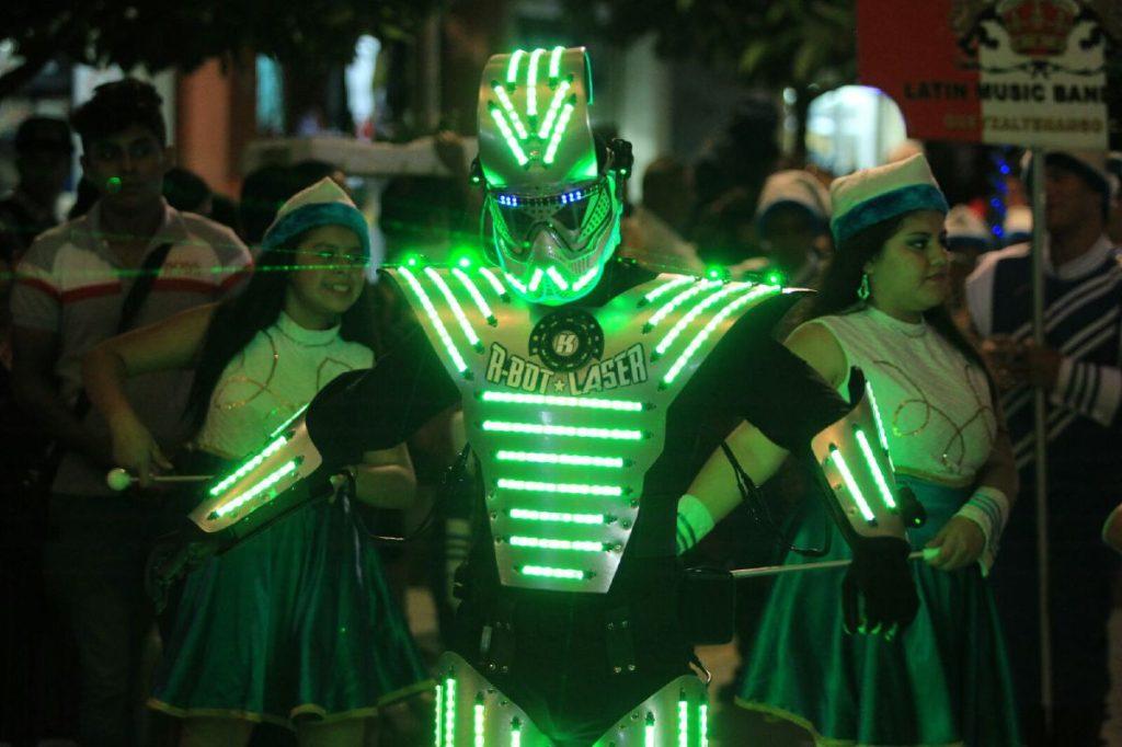La creatividad guatemalteca está presente en el desfile.
