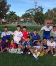 La escuela fue fundada por el entrenador Walter Armando Molina Dávila, en septiembre del 2016. (Foto Prensa Libre: Cortesía)