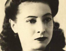 Retrato en vida de María Chinchilla Recinos. (Foto: Hemeroteca PL)