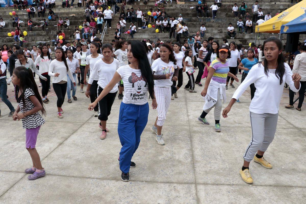 Los beneficiados podrán practicar diferentes disciplinas deportivas. (Foto Prensa Libre: Eduardo Sam Chun)
