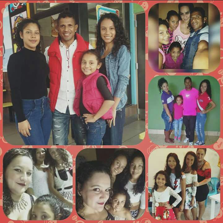 La familia Espinoza Sanabria enfrenta una dura batalla por la enfermedad de Karen. (Foto Prensa Libre: Cortesía David Espinoza)