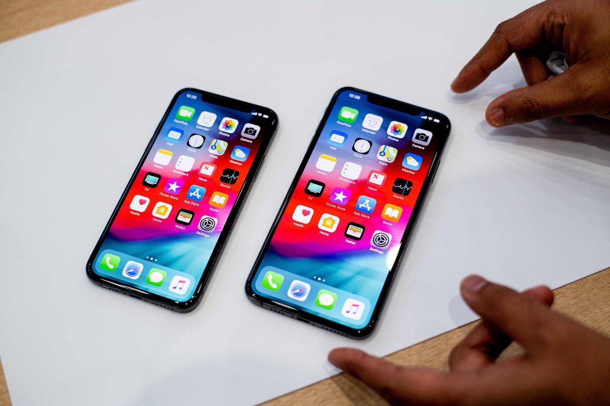 El iPhone tiene un problema de seguridad (Foto Prensa Libre: AFP).