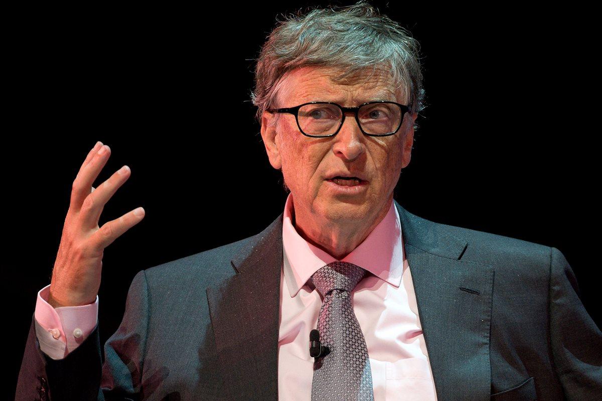 Bill Gates criticó la reforma fiscal sancionada en Estados Unidos con rebajas de impuestos a empresas y personas. (Foto Prensa Libre: AFP)