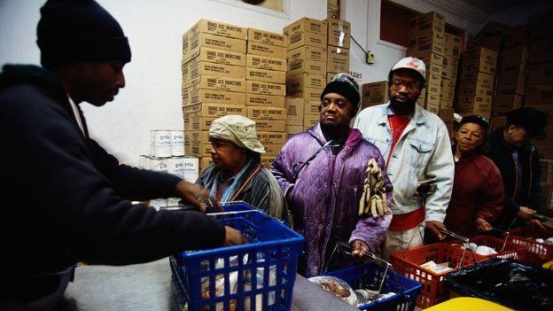 Los afroestadounidenses, en general, siguen estando muy rezagados en los indicadores de bienestar. FOTO: GETTY IMAGES