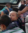 La ola de niños migrantes hacia EE. UU. se disparó en los último años. (Foto Prensa Libre: AFP)