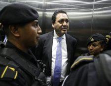 Gudy Rivera, expresidente del Congreso, cumple condena por el caso de tráfico de influencias. (Foto Prensa Libre: Hemeroteca PL)