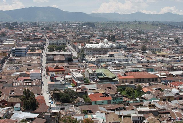 Vista panorámica de la Ciudad de Quetzaltenango. (Foto: Hemeroteca PL)