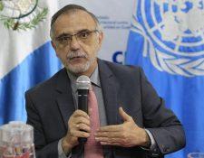 Iván Velásquez, comisionado de la Cicig. (Foto: Hemeroteca PL)