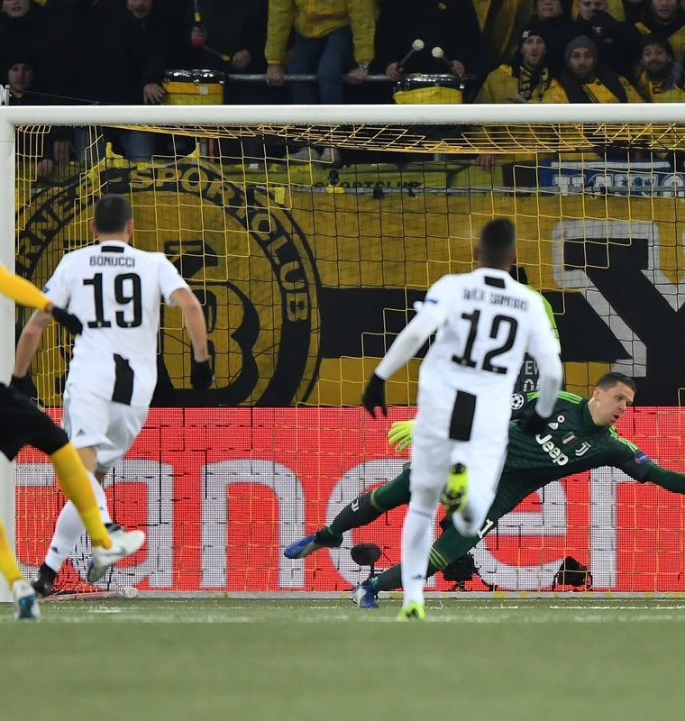 Paulo Dybala anotó el gol del descuento para la Juventus. (Foto Prensa Libre: AFP)