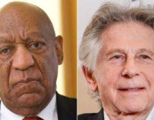 Numerosas voces habían pedido la expulsión de Bill Cosby (izqda.) y Roman Polanski de la Academia de Hollywood por las acusaciones de abuso sexual que pesan en su contra. REUTERS/EPA