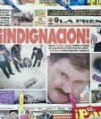 La Prensa mexicana ha criticado fuertemente al Gobierno tras la fuga del capo. (Foto Prensa Libre: AFP).