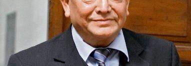 El magistrado Neftaly Aldana se encuentra ausente debido a problemas de salud. (Foto Prensa Libre: Hemeroteca)