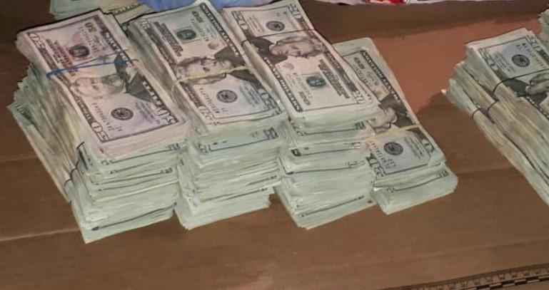 Policía decomisa más de US$ 5 millones falsos