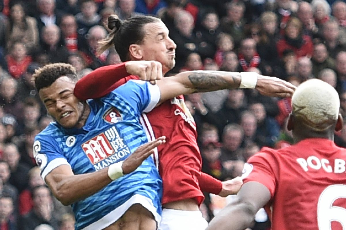 La Federación Inglesa acusa de conducta violenta a Ibrahimovic y Mings