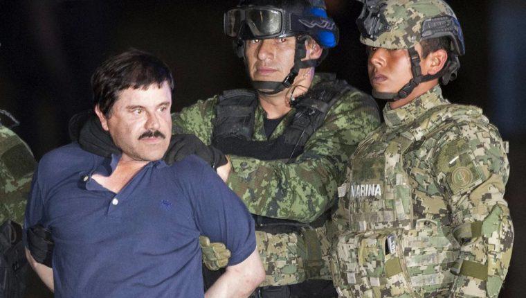 El Chapo Guzmán fue recapturado en enero del 2016. (Foto Prensa Libre: AP).