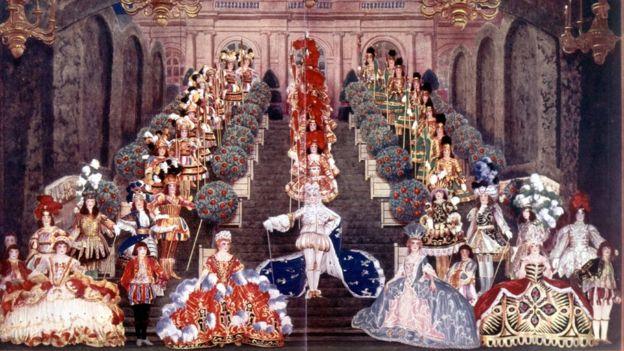 En la corte de Versalles, no había mucho chance de que burgueses se codearan con la aristocracia. GETTY IMAGES