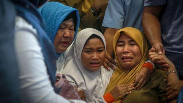 No se espera que haya sobrevivientes. HADI SUTRISNO/GETTY IMAGES