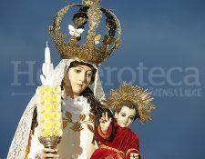 Nuestra Señora de Candelaria, patrona de la Parroquia del mismo nombre en la zona 1. (Foto: Néstor Galicia)