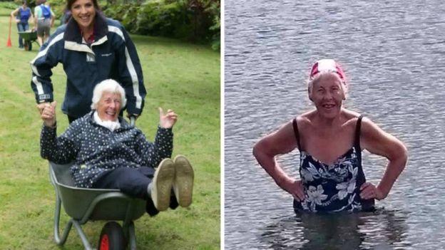 A sus 86, esta octogenaria lleva una vida de lo más activa. (Foto cortesía: Maguire)