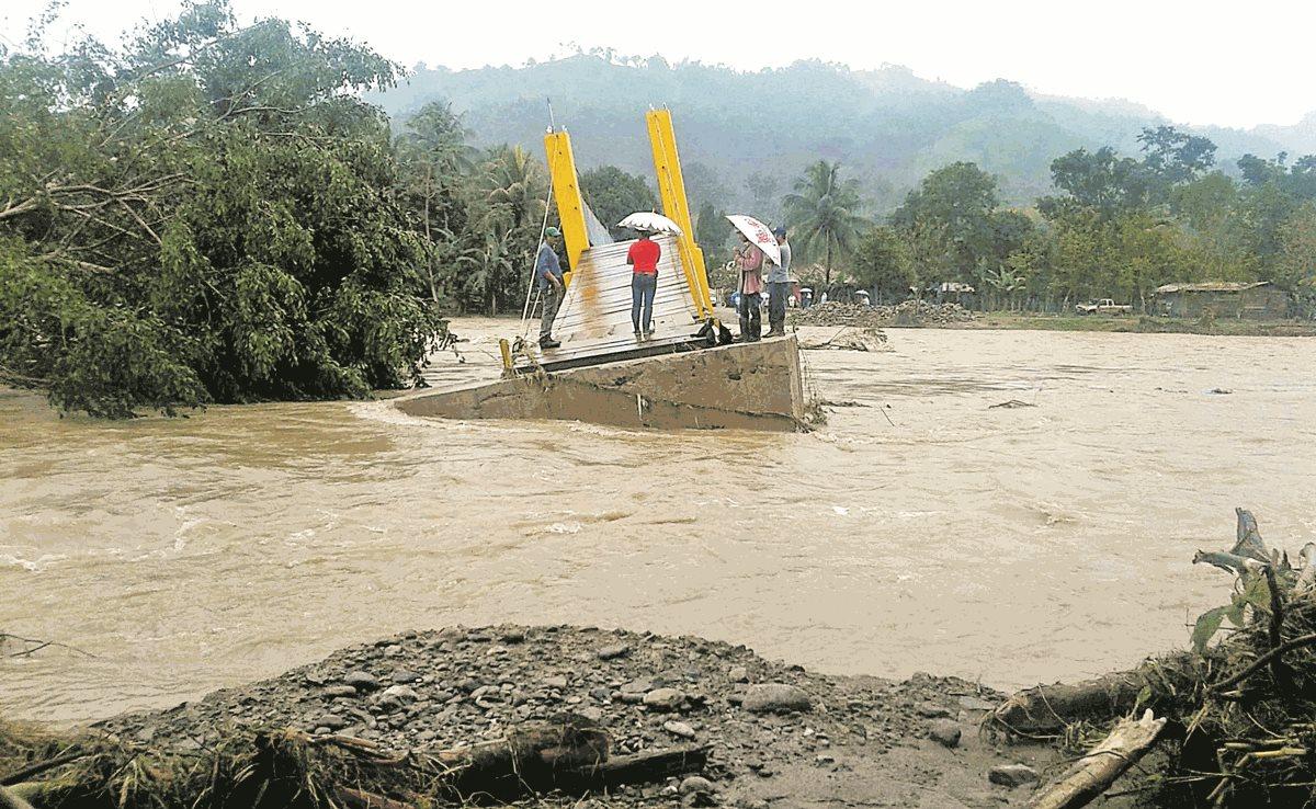 Inusuales lluvias en Guatemala dejan casi 100 mil afectados
