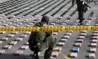 decomisos de cocaína procedente de Sudamérica se incrementan en Centroamérica y México.