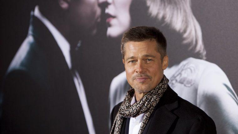 Brad Pitt se encuentra promocionando su nueva película Allied. (Foto Prensa Libre: AP)