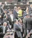 El pleno del Congreso discutirá las reformas constitucionales, en sesión exclusiva, el 28 de noviembre. (Foto Prensa Libre: HemerotecaPL)