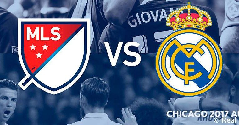 El Real Madrid hizo oficial el partido contra las Estrellas de la MLS. (Foto Prensa Libre: Twitter Real Madrid)