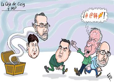 La Caja de Cicig y MP