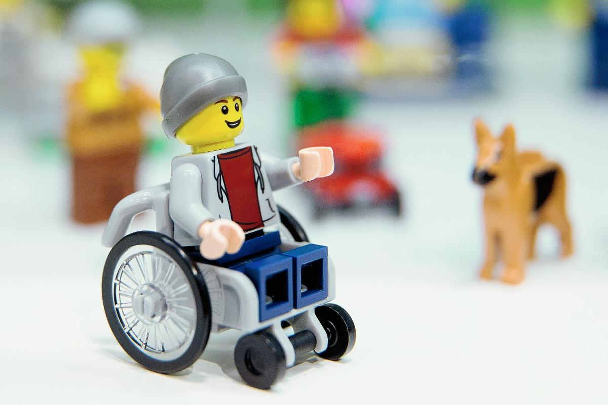 Lego sí sabe de inclusión
