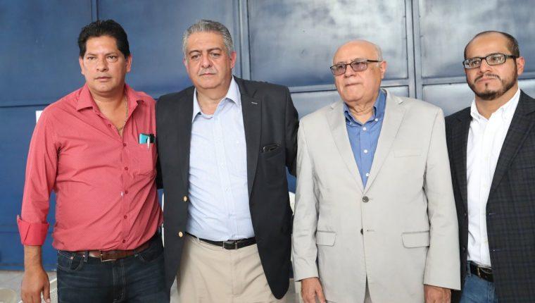 Véliz y su planilla estarán al mando de la Federación Nacional de Futbol. (Foto Prensa Libre: Francisco Sánchez)