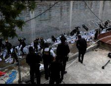 (Imagen de referencia) La PNC controla un motín en el anexo a Gaviotas.  (Foto Prensa Libre: Hemeroteca PL)