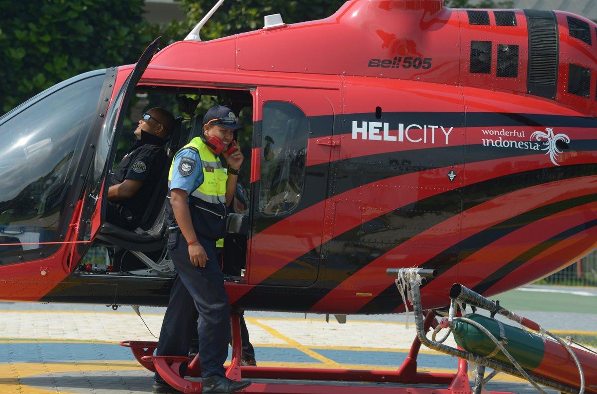 Aplicaciones de helicóptero-taxi, una escapatoria al tráfico