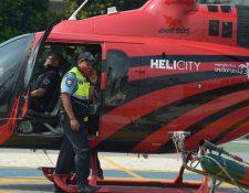 Una nueva tendencia mundial es usar los denominados helicópteros-taxi. (Foto Prensa Libre: AFP)