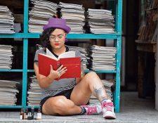 La artista habla de su realidad como mujer y artista por medio de sus líricas. (Foto Prensa Libre: Keneth Cruz)