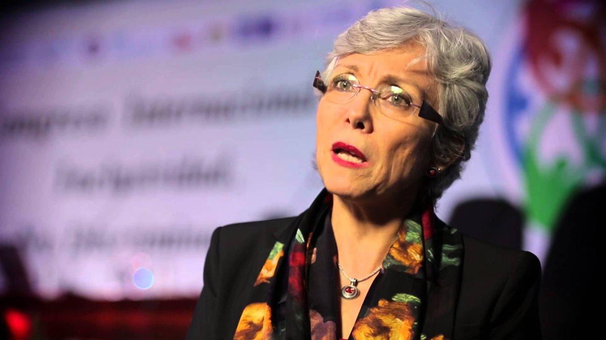 Carmen Rosa Villa, excomisionada adjunta de Cicig. (Foto Prensa Libre: Captura de video del canal del Organismo Judicial de Costa Rica)