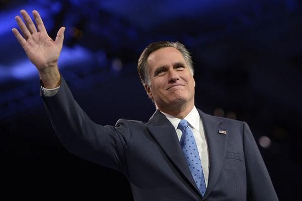 El republicano Matt Romney descartó participar por tercera ocasión como   candidato presidencial en las elecciones de este año. (Foto Prensa   Libre: EFE).